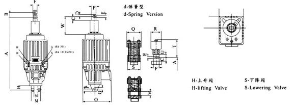 mytd2系列电力液压推动器